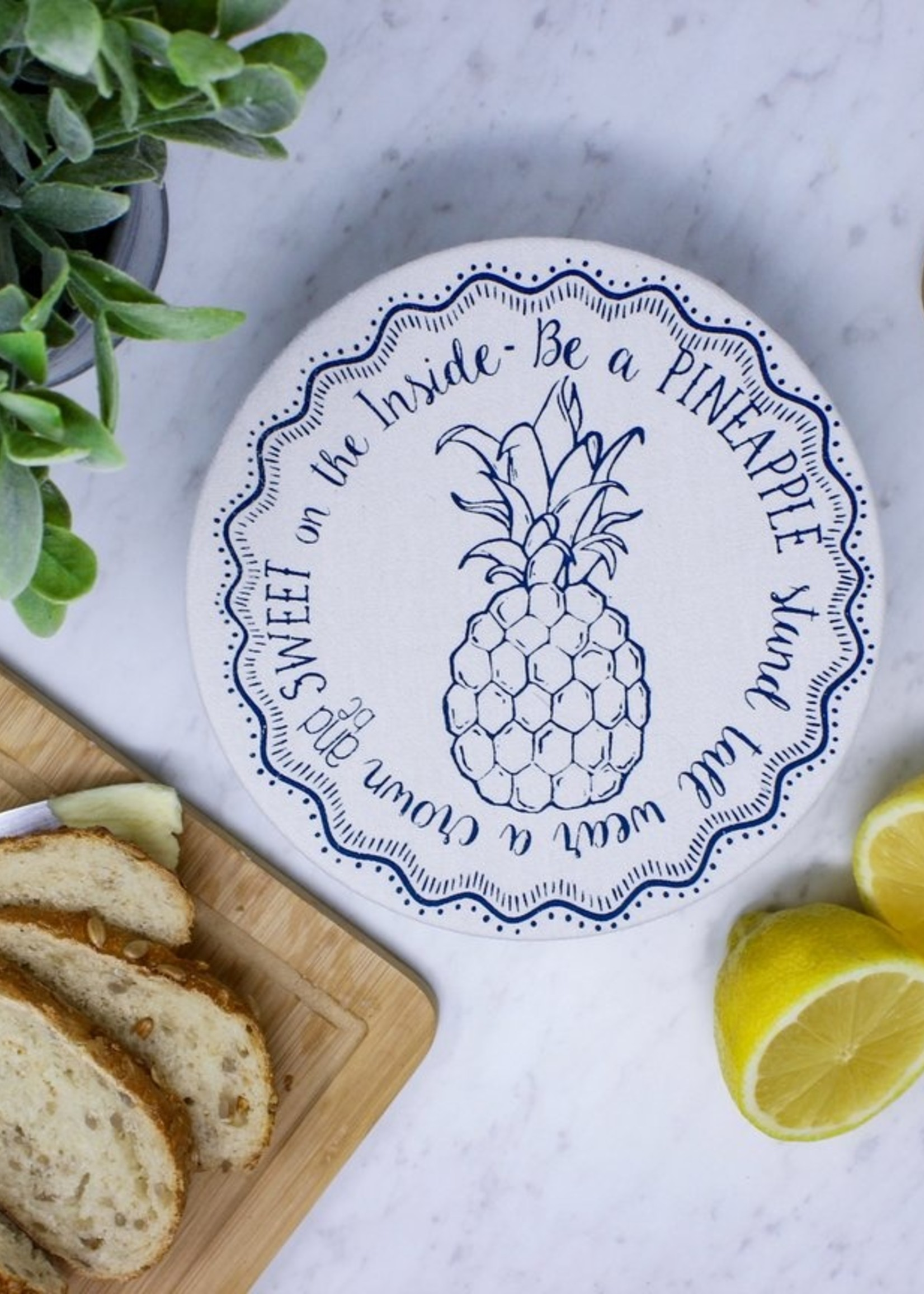 Your Green Kitchen PINEAPPLE BOWL COVER
