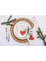 Your Green Kitchen GRATEFUL HEART, SET OF 2 NAPKINS
