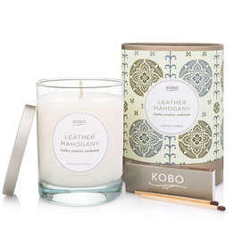 Kobo Kobo Leather Mahogany Candle