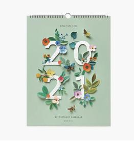Rifle Paper Co. Rifle Paper 2021 Cut Paper Appt Calendar