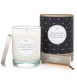 Kobo Kobo Vetiver & Shaved Vanilla Candle