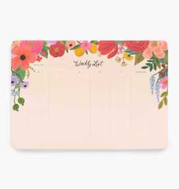 Rifle Paper Co. Rifle Paper Garden Party Weekly Desk Pad