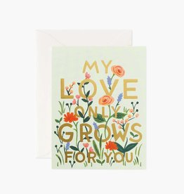 Rifle Paper Co. Rifle Paper Love Grows Card