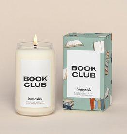 Homesick Homesick Candle Book Club