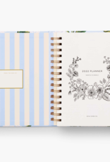 Rifle Paper Co. Rifle Paper 2022 Hydrangea 17-Month Covered Spiral Planner