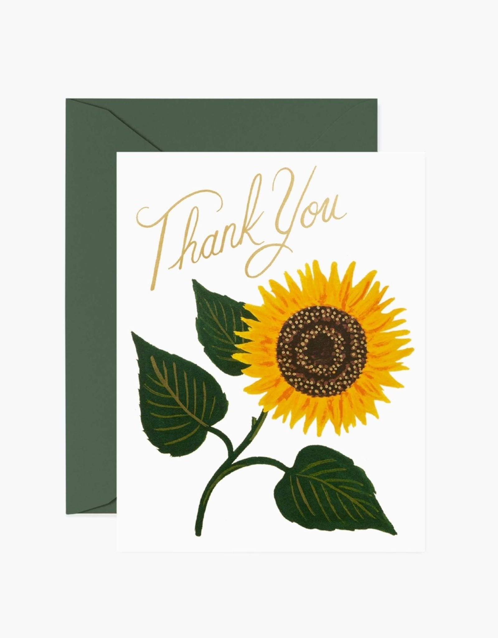 Rifle Paper Co. Rifle Paper Sunflower Thank You Card