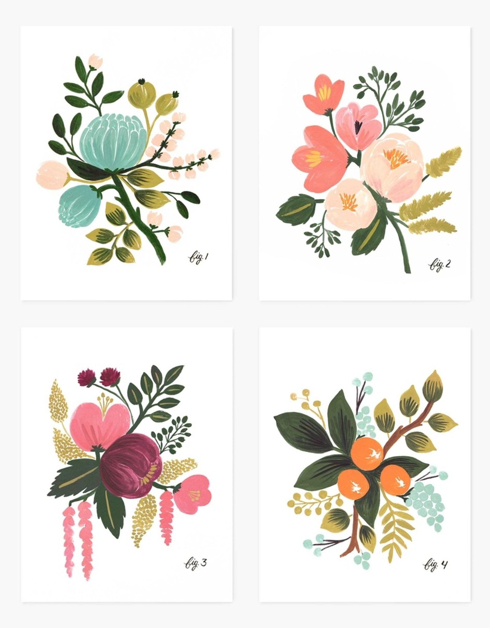 Rifle Paper Co. Rifle Paper Assorted Botanical Card Set
