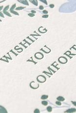 Rifle Paper Co. Rifle Paper Indigo Sympathy Card