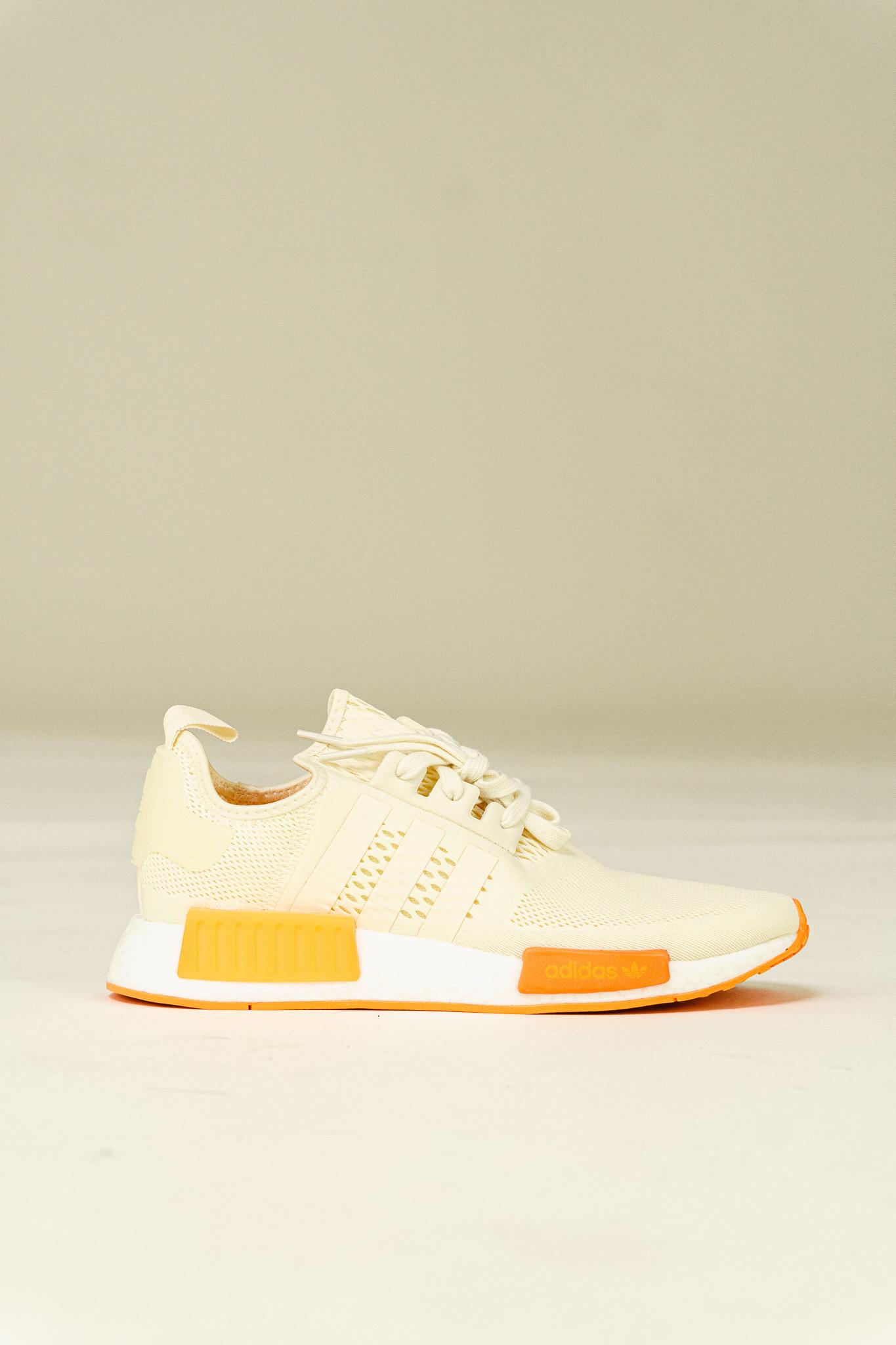 Adidas NMD_R1 'Cream White/Screaming Orange|FY5984|TOP FASHION