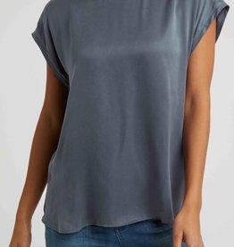 YAYA Basic Capped Sleeve T Shirt
