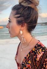 Artifacts Lola Tassel and Shell Earrings