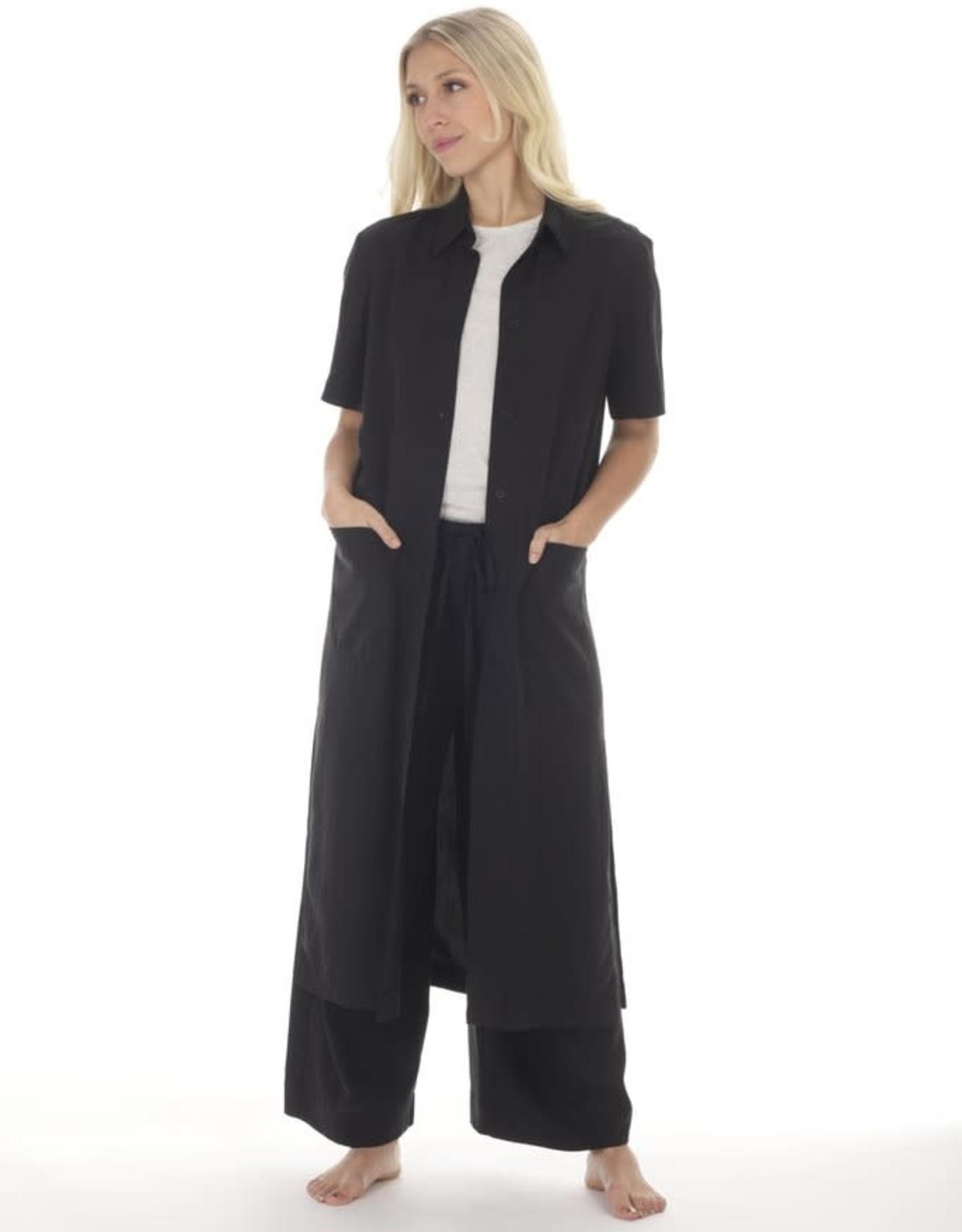 Paper Label Cairo Button Down Shirt Dress / Duster