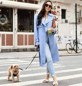 SOIA & KYO Nousha Lightweight Spring Trench