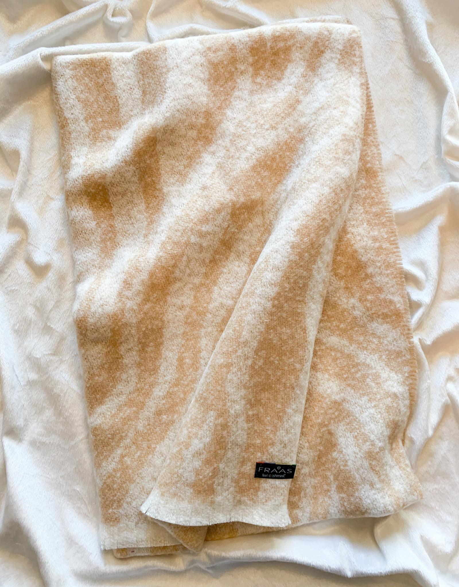 V.Fraas Subtle Zebra Large Plush Scarf