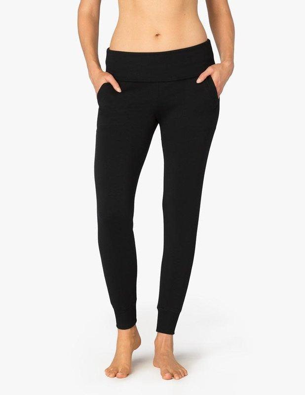 Beyond Yoga Cozy Fleece Foldover Long Sweatpant