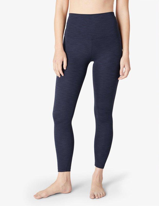 Beyond Yoga Heather Rib High Waist Midi Legging