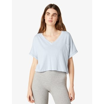 Beyond Yoga Deep V Pocket Tee by Beyond Yoga