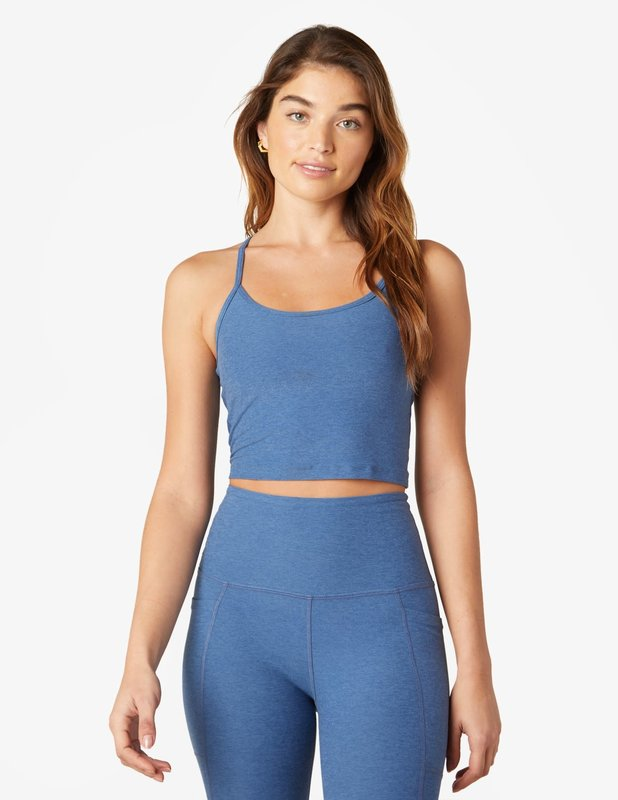 Beyond Yoga Spacedye Slim Racerback Cropped Tank by Beyond Yoga