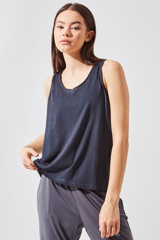 MPG Flame Relaxed V-Neck Tank