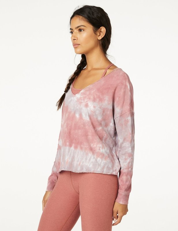 Beyond Yoga Open Neck Pullover