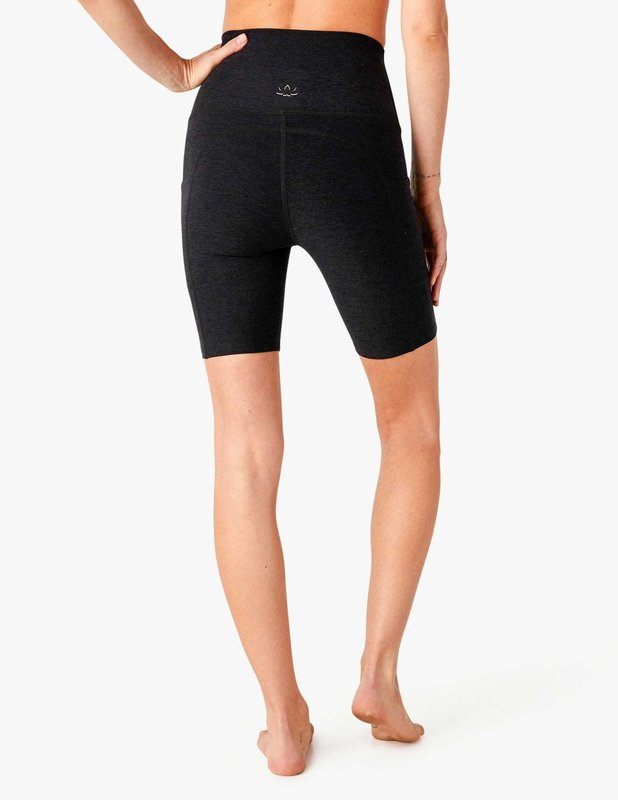 Beyond Yoga Spacedye Team Pockets High Waisted Biker Shorts