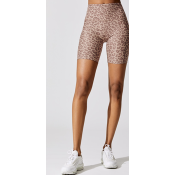 Beyond Yoga Spacedye Printed High Waisted Biker Short