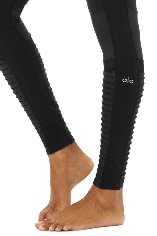 Alo High-Waist Moto Legging by Alo W5494R