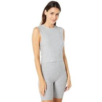 Beyond Yoga Ruched Down Cropped Tank