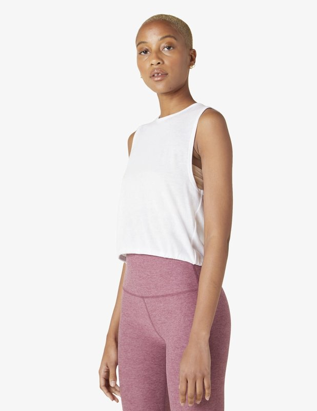 Beyond Yoga Come Together Cropped Tank