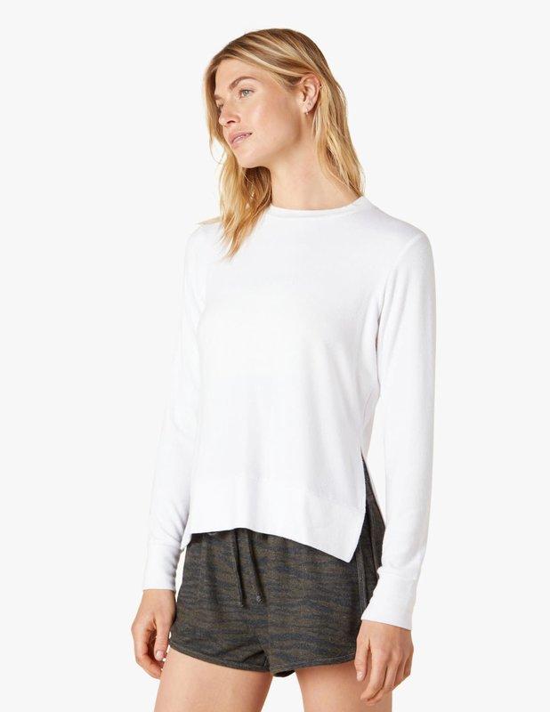 Beyond Yoga Side Slit L/S Pullover