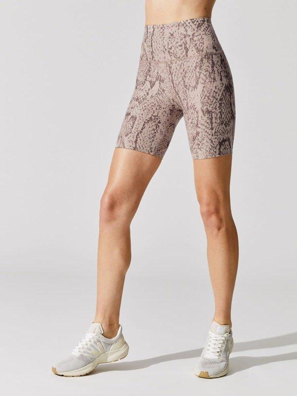 Beyond Yoga Spacedye Printed High Waisted Biker Short