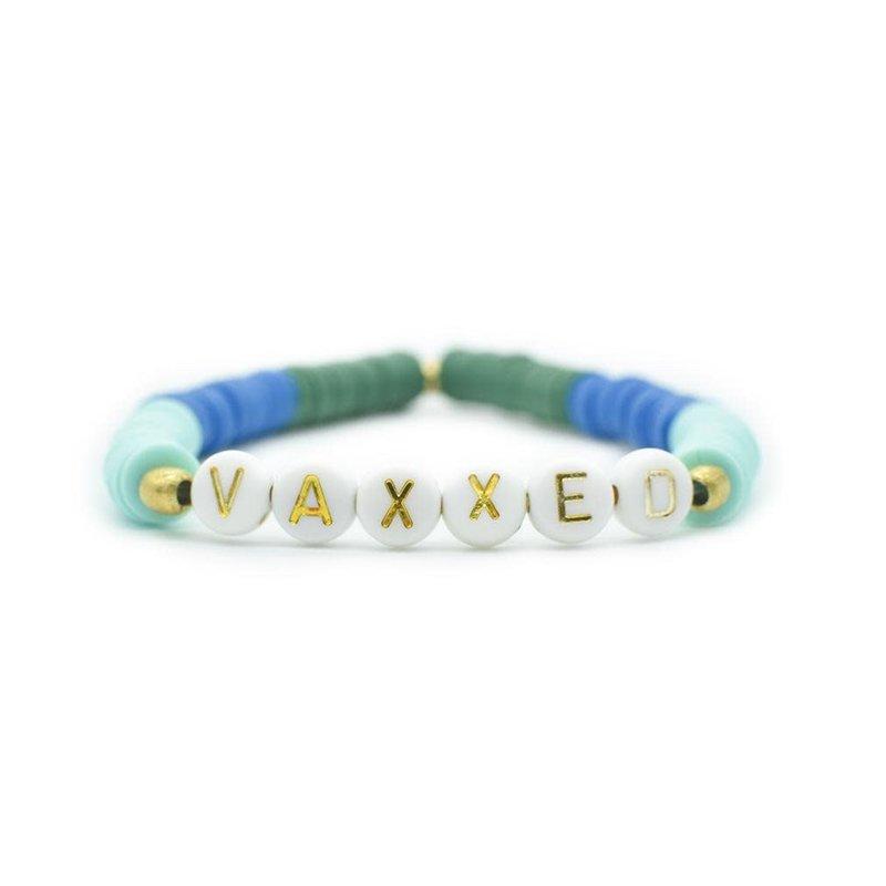 Bird + Stone Vaxxed Bracelet