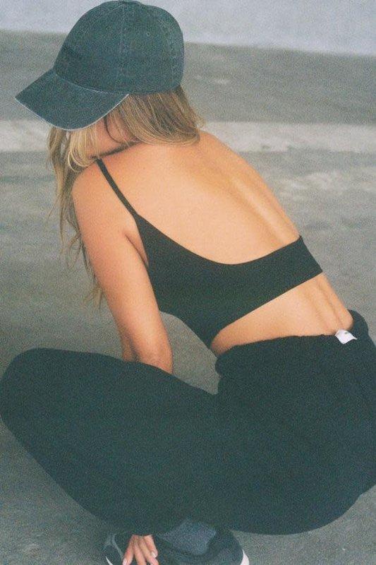 Joah Brown Low Back Crop Cami