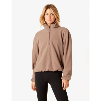 Beyond Yoga Straight Hem Quarter Zip Pullover