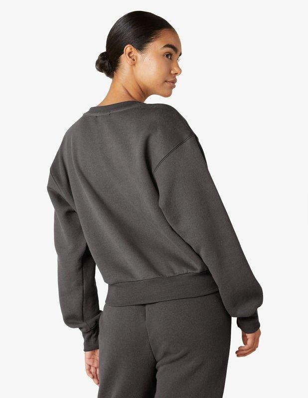 Beyond Yoga WFH Fleece  Cropped Crew