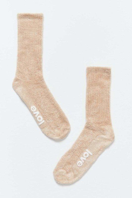 Spiritual Gangster Love Fuzzy Sock