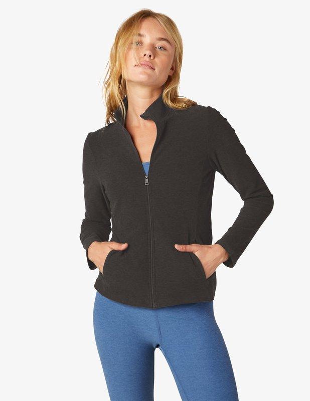 Beyond Yoga On The Go  Mock Neck Jacket