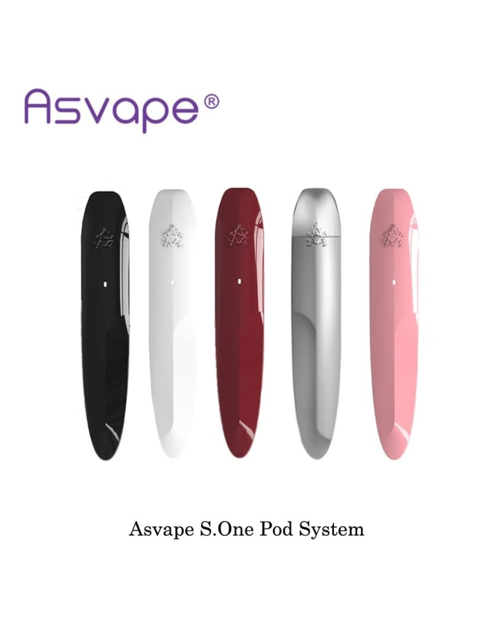 ASAVAPE ASVAPE S.ONE RED POD KIT