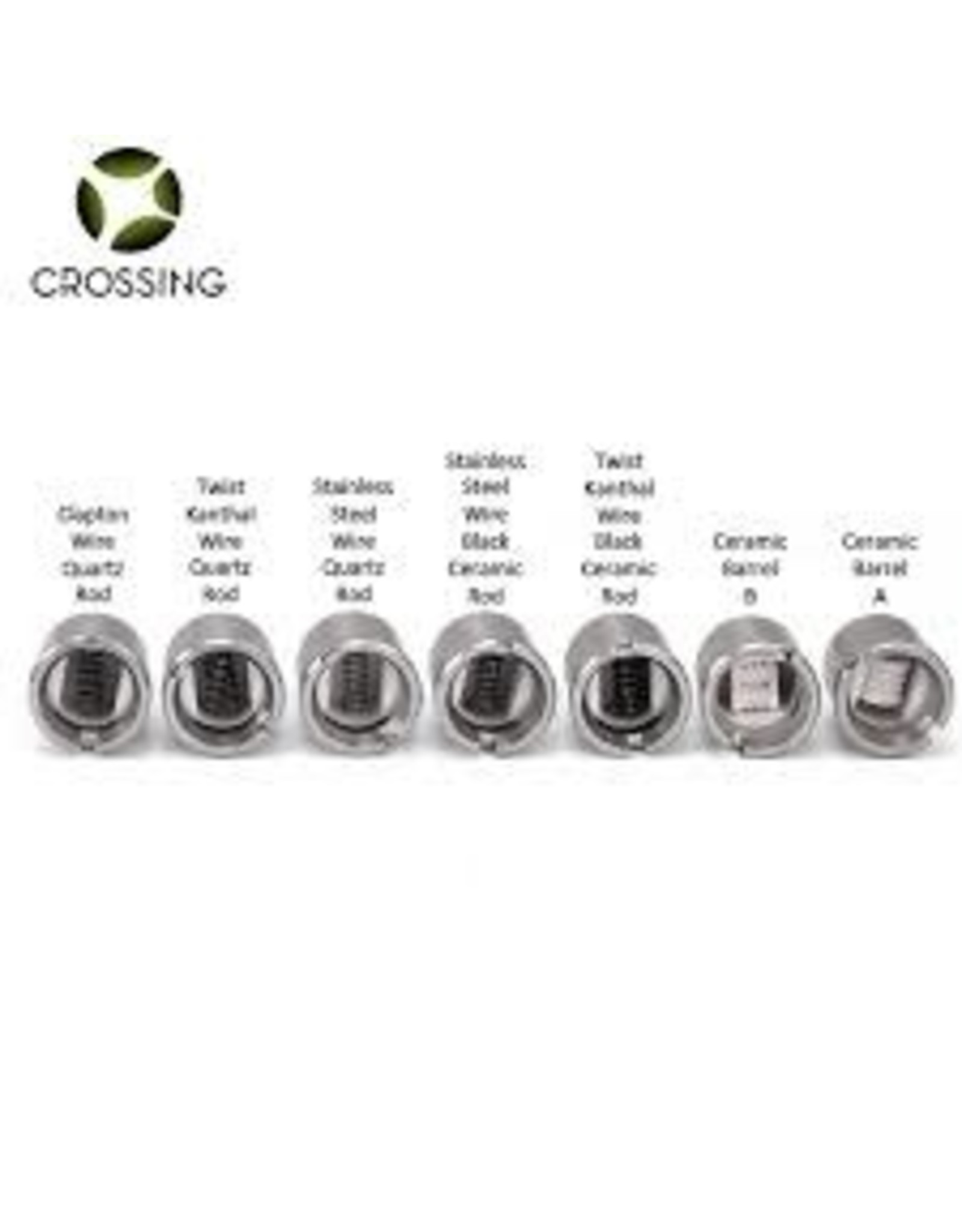 CROSSING CROSSING SAI DUAL KANTHAL WIRE 4MM QUARTZ ROD