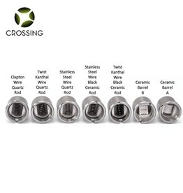 CROSSING CROSSING SAI SS BLACK CERAMIC ROD COIL