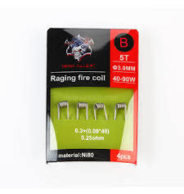 DEMON DEMON KILLER RAGING FIRE COIL A 5T 3.00MM 40-90W