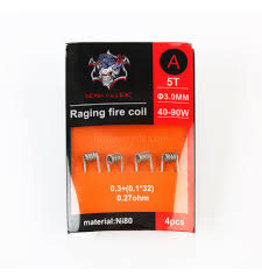 DEMON DEMON KILLER RAGING FIRE COIL B 5T 3.00MM 40-90W