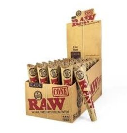 """RAW RAW CLASSIC 1 1/4"""" CONE PACK OF 6"""