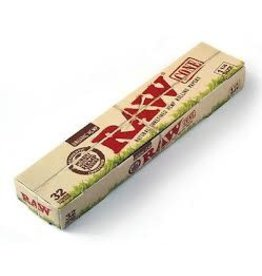 RAW RAW ORGANIC HEMP 1 1/4 PACK OF 32 CONES