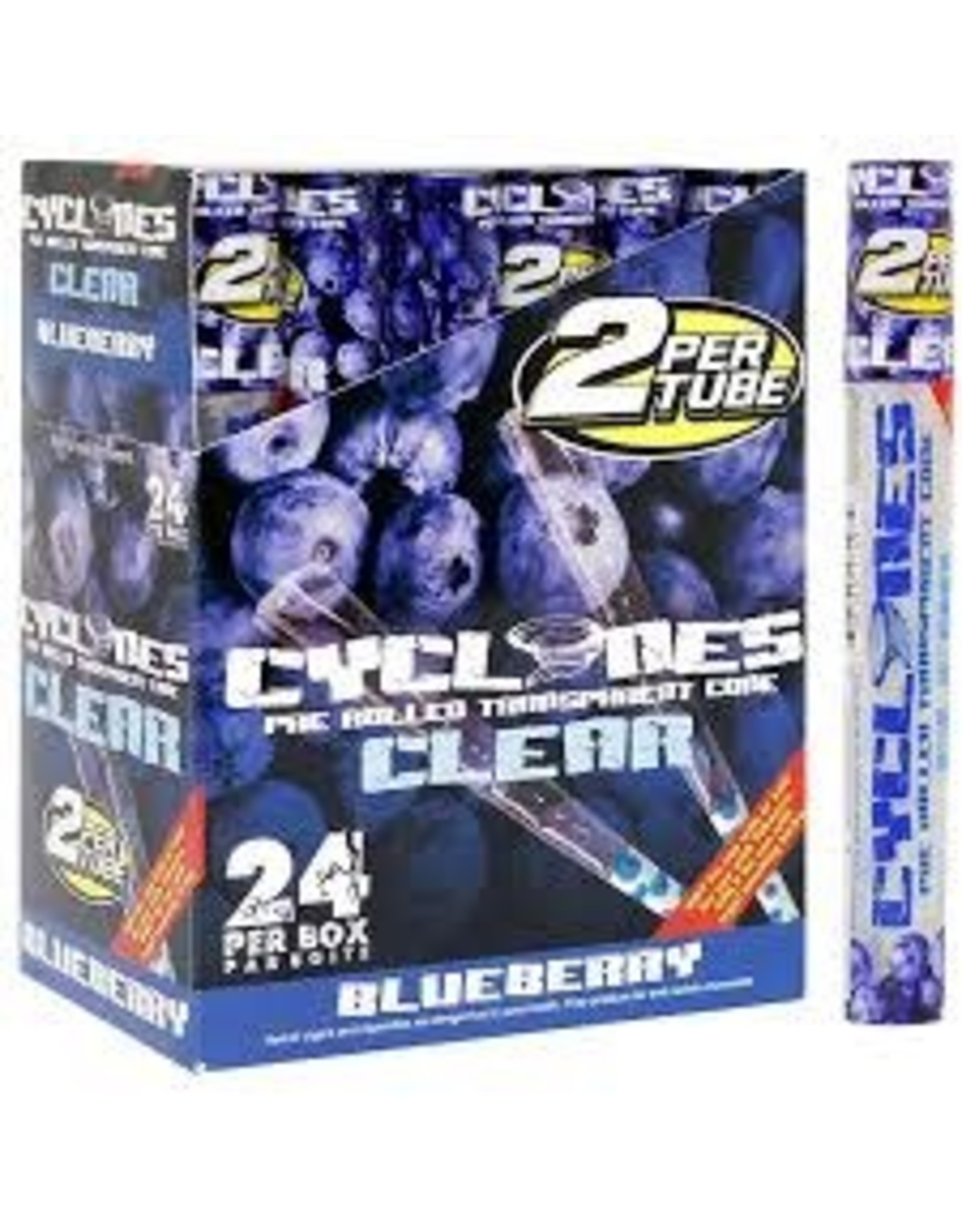 CYCLONCE CYCLONES CLEAR CONE BLUEBERRY