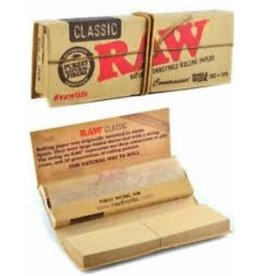 RAW RAW CLASSIC CONNOISSEUR SINGLE WIDE WITH TIPS