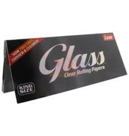 GLASS GLASS CLEAR ROLLING PAPER KING SIZE 40 TRANSPARENT