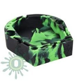 OOZE Banger Silicone Ashtray - GREEN / BLACK