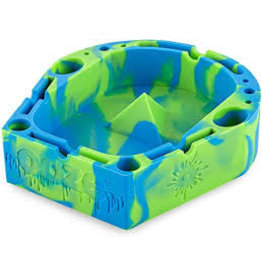 OOZE Banger Silicone Ashtray - BLUE / GREEN