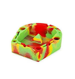 OOZE Banger Silicone Ashtray - RED / YELLOW / GREEN